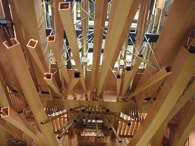 Disney Concert Hall Organ Aerial